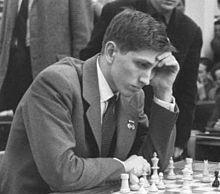 Bobby Fischer bei der Schacholympiade Leipzig 1960 (Foto: Wikipedia)